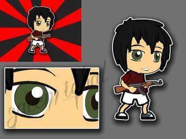 Cartoon Character...