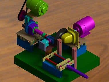 Design & Development of Speical Purpose Machine