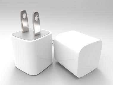 3D Modeling - iPhone Charger