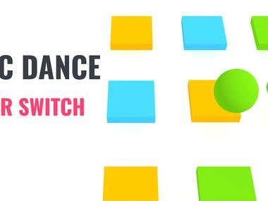 Cubic Dance: Switch Color (Android Game)