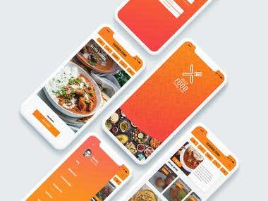 UI/UX Design - Food Delivery App