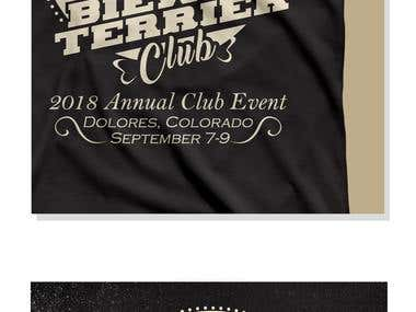 Biewer Terrier Club Shirt Design