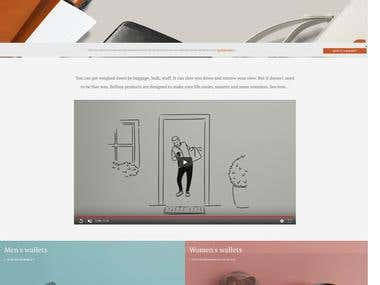 Bellroy Web Site Development