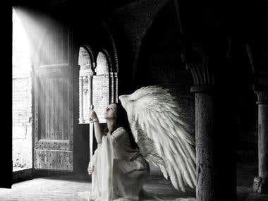 Photo Enhancement: Hidden Angel
