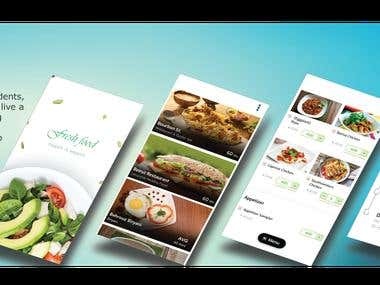Online Food Order Mobile Application