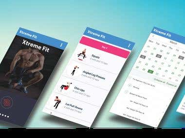 Mobile Application for Health & Fitness