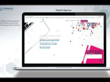 WordPress Website Design for Digital Agency
