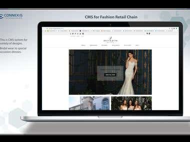 CMS for Fashion Retail Chain