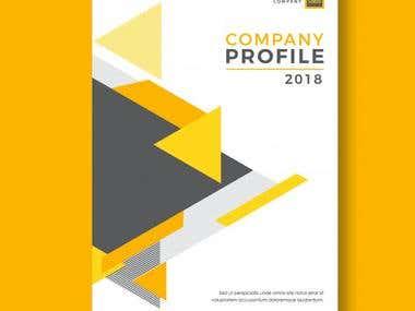 I 'm Company Profile design Expert.