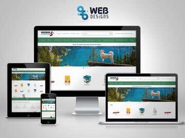 Pet Online Store UI UX Sketch App