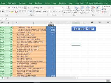 Extract Specific Information from .csv file