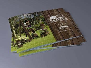 Editorial Design, for Kratoch catalogue