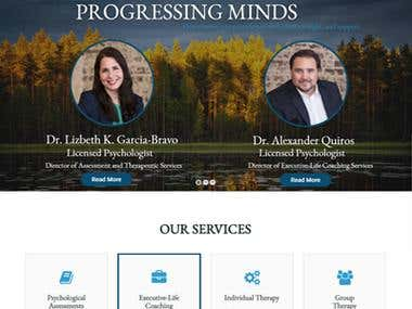 WordPress Site -- Porgesssingmindstx