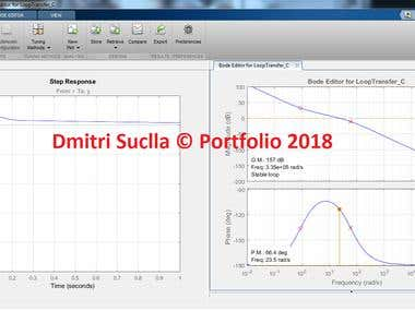 MATLAB CONTROL SYSTEMS DESIGN TOOLBOX