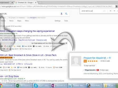 Hello Sir I have achieved top #3 rank in Google.co.uk Here