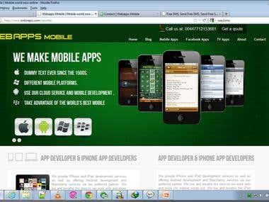 Webapps mobile