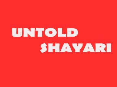 The Untold Shayari