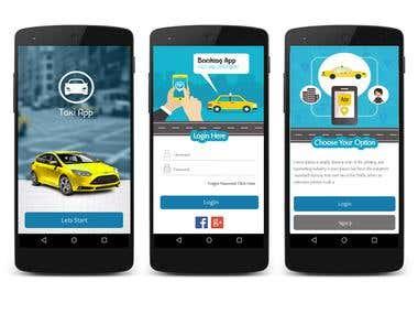 Taxi App on Firebase