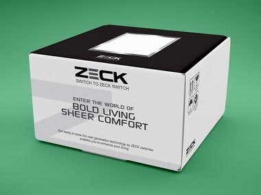 Package Design For ZECK