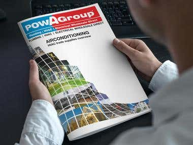 Catalogue Design For PowaGroup