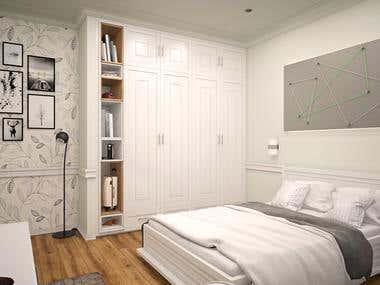 "Design of a ""girls"" bedroom"
