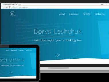 bogori.com - Portfolio website