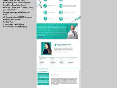 PSD to HTML | swphysicalmedicine.com