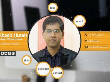 Bikash Personal website