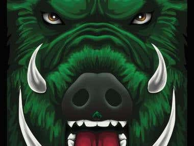Boar Illustration