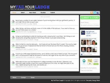 Social Networking site with share feeling, rating
