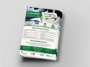 Brochure/Flyer/Pamphlet Designs
