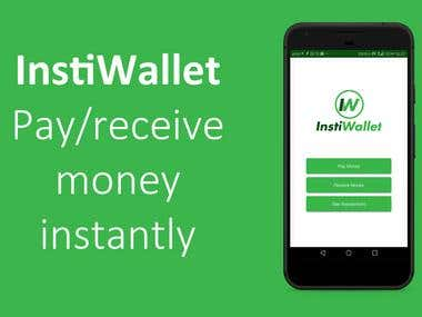 InstiWallet - Pay/receive money