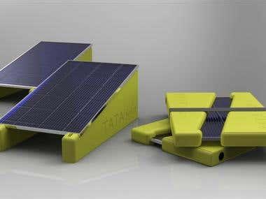 Tata - Solar panel grounding