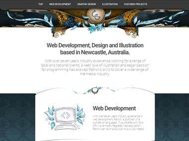 Cyanic Garden - Personal Website