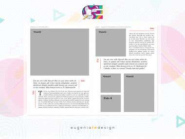 Maqueta Editorial para Revista Inspira