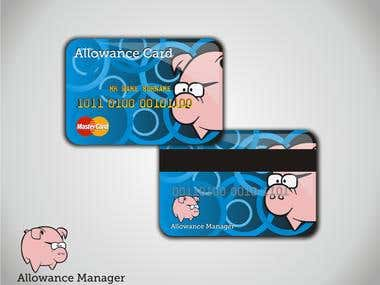 Winning card design for Allowance Manager