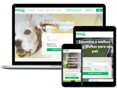 Dog walking service based marketplace