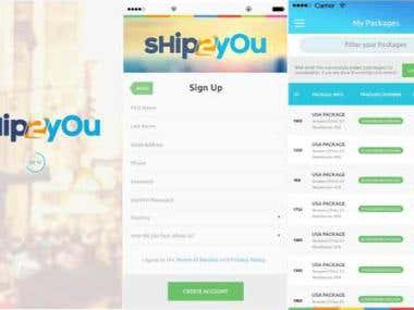 Ship2You Application