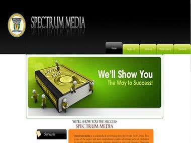 Spectrum media Yellow Pages Website by jainkul technologies