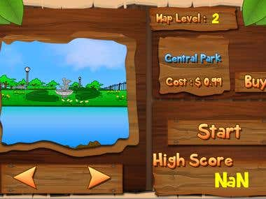 Bird Fishing (Android Game)