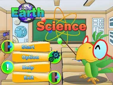 Earth Science (Desktop Application)