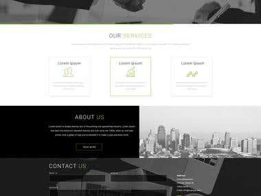 Job Consultancy Website Design _1