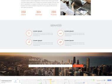 Job Consultancy Website Design _2
