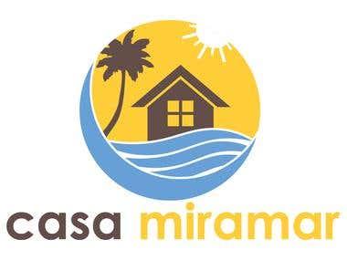 Logo for Beach house