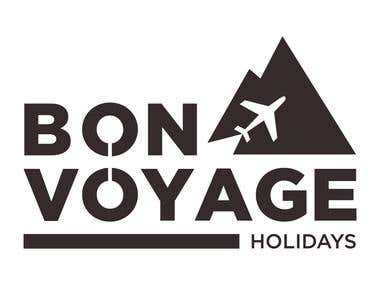 Logo for a traveling agency