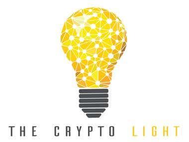 Illutrative logo for Crypto Light