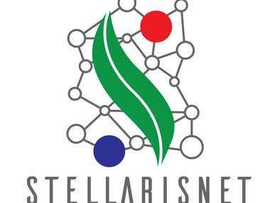 Logo for an open science platform.