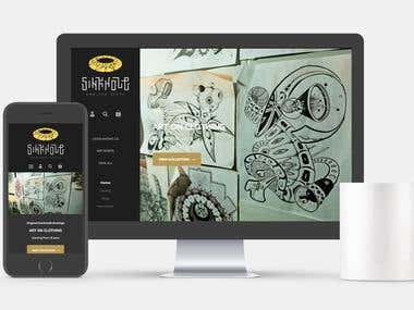 Shopify Custom Website
