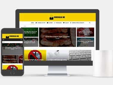 Wordpress Blog design and developing