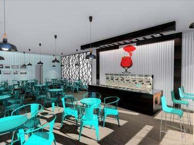 Cafe & Restaurant Interior Design